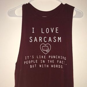 Sarcasm Muscle T-Shirt